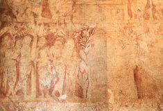 Frescoes in Polonnaruwa Royalty Free Stock Images
