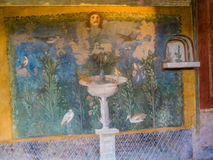 Frescoes in Pompeii, Italy Royalty Free Stock Images