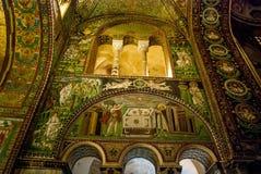 Frescoes in Ravenna Stock Photo