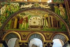 Frescoes in Ravenna Royalty Free Stock Photos