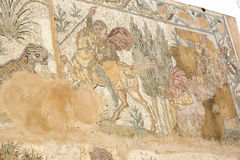Frescoes on the ruins of Carthage Royalty Free Stock Images