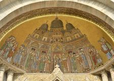 Frescoes  of Saint Mark Royalty Free Stock Image