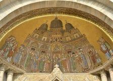 Frescoes  of Saint Mark Royalty Free Stock Image
