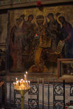 Frescoes of St Sophia Cathedral Stock Photography