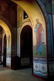 Frescoes of St Sophia Cathedral Stock Image