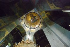 Frescoes of St Sophia Cathedral Stock Images
