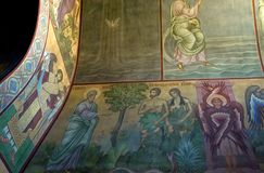 Frescoes of St Sophia Cathedral Stock Photo