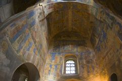 Frescoes on the walls of the church Royalty Free Stock Photography