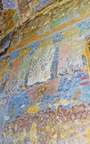 Frescoesna i Vardzia Royaltyfria Bilder