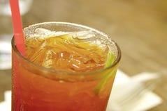 Frescor do chá congelado do limão Imagem de Stock