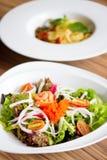 Frescor Salmon Salad Fotografia de Stock Royalty Free
