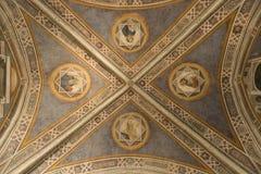 Frescos decorativos en Florencia, Italia Fotografía de archivo libre de regalías