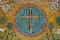 Frescos en Ravena Fotos de archivo libres de regalías