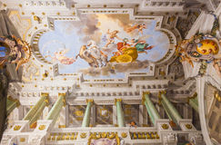 Frescos Palazzo Pitti - Florence Royalty Free Stock Photography