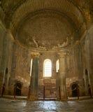 Frescos in the Saint Nicholas church in Demre, Turkey Royalty Free Stock Image