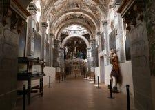 San Miguel De Allende-January 18, 2017: Frescos in Santuario de Atotonilco Stock Photography