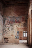 Frescos in Sapieha Palace in Vilnius, Lithuania Royalty Free Stock Photography