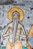 Frescos viejos de santos Fotos de archivo libres de regalías