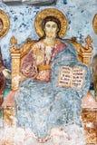 Frescos viejos de santos Fotografía de archivo