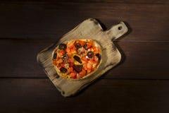 Freselle, o el friselle secó el pan, comida italiana imagen de archivo