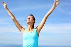 Fresh air good for health Stock Image