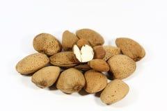 Fresh almonds Stock Photos