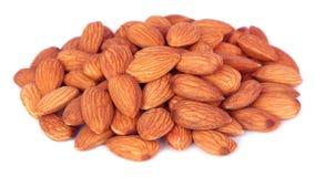 Fresh almonds Stock Photography