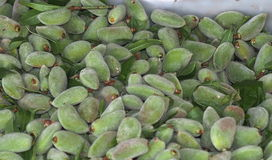 Fresh Almonds For Sale Stock Images