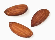 Fresh Almonds Stock Photo