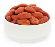 Fresh almonds Stock Photos