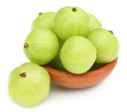 Fresh amla Royalty Free Stock Photo