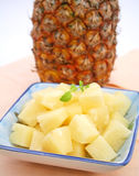 Fresh ananas fruit Stock Photos