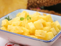 Fresh ananas fruit Royalty Free Stock Images