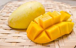 Fresh And Colorful Mango Stock Photography