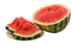 Fresh And Juicy Watermelon Stock Photography