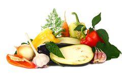 Fresh And Vitamins Vegetables Stock Photography
