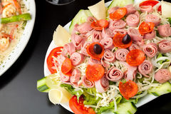 Fresh Antipasto Salad Royalty Free Stock Photo