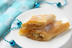 Fresh Apfelstrudel Royalty Free Stock Images