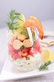 Fresh appetizer Stock Image