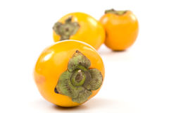 Fresh appetizing persimmon Royalty Free Stock Photo