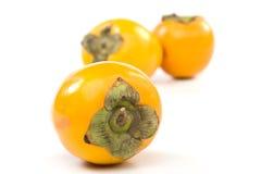 Fresh appetizing persimmon Royalty Free Stock Photo