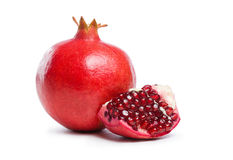 Fresh appetizing pomegranate. Stock Image