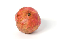 Fresh appetizing pomegranate on a white. Background Stock Photography