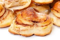 Fresh appetizing sweet rolls Stock Photo