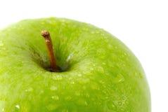 Fresh apple. Isolated on white Stock Photos