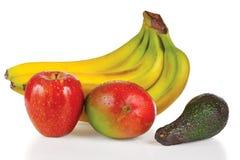 Free Fresh Apple, Avocado, Mango And Bunch Of Bananas Stock Photos - 23043573