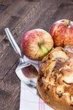 Fresh Apple Cake Royalty Free Stock Images
