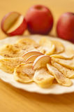 Fresh apple with cinnamon Royalty Free Stock Photo