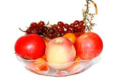 Apple grape royalty free stock images