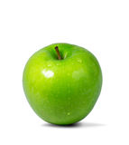 Fresh Apple. A green freshy apple on white isolated Royalty Free Stock Photo